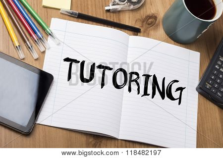 Tutoring - Note Pad With Text