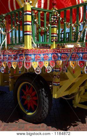 Decorated Truck