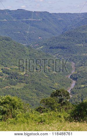 Cai River In Nova Petropolis - Rio Grande Do Sul - Brazil