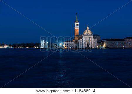 San Giorgio Maggiore Is A Basilica Of San Giorgio Maggiore In Venice