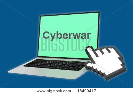 Cyberwar Concept