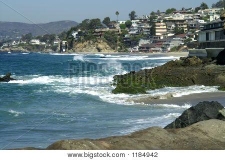 Laguna Beach Küste