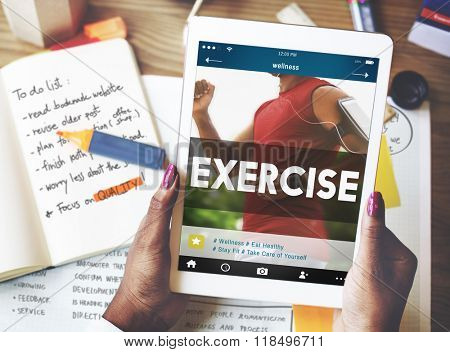 Exercise Activity Fitness Health Cardio Active Wellness Concept