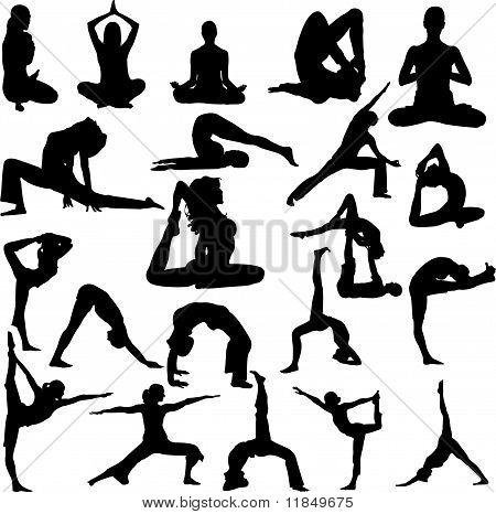 Yoga Vector 2 - vector