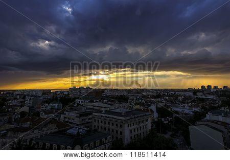 Beautiful cityscape.