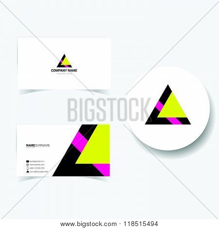 Business Card Creative Illustration