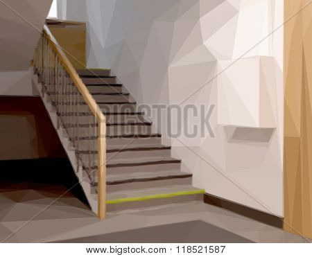 Stairs in Office or Entrance