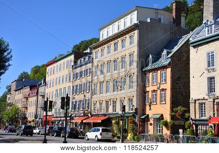 Stone Houses in Basse-Ville, Quebec City