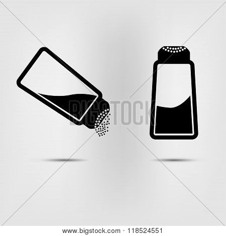 Salt Icon Flat