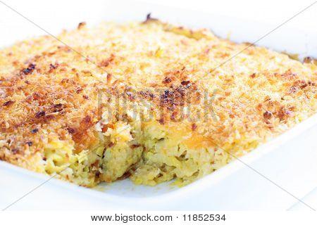 cheese casserole angle