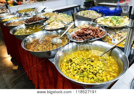 Food Buffet In The Thailand