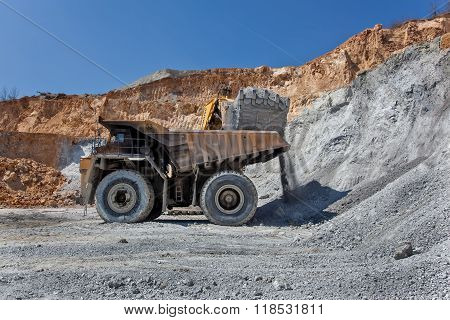 Equipement On Cooper Mine - Open Pit 24
