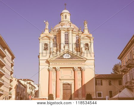 Church Of San Bernardino Meaning St Bernardine In Chieri Vintage