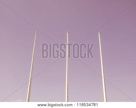 Flagpole Vintage