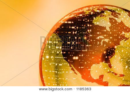 Earth Globe Lights