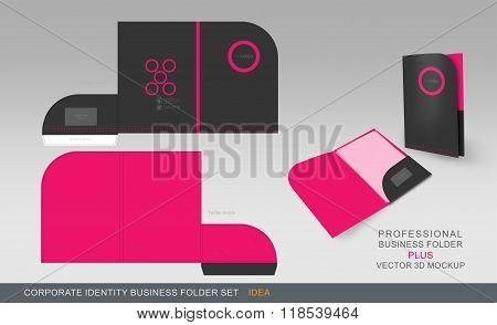 Corporate Identity Business Folder-concept 06