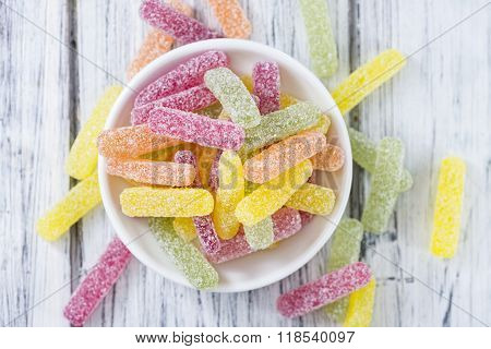 Sweet And Sour Gummi Candy