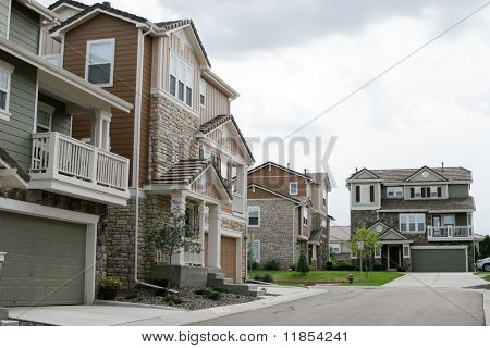 American townhouses
