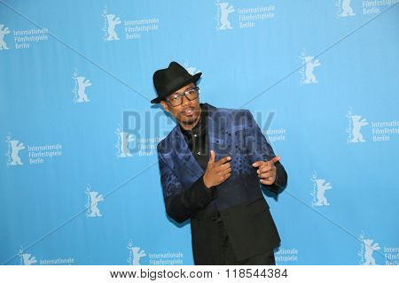 Actor Nick Cannon attends the 'Chiraq' premiere during the 66th Berlinale International Film Festival Berlin at Grand Hyatt Berlin Hotel, in Berlin, Germany on February 16, 2016.