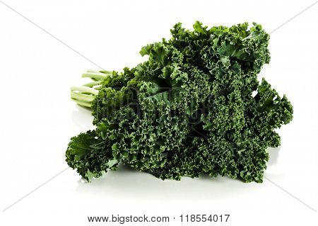 Image of kale studio isolated on white background