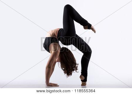 Young Woman Doing Bridge Exercise