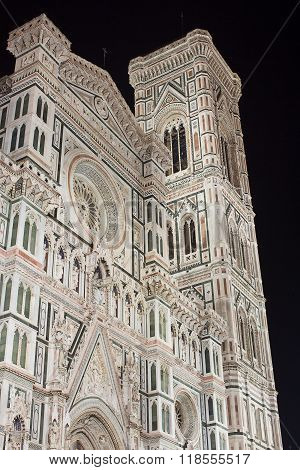 Il Duomo Florence At Night