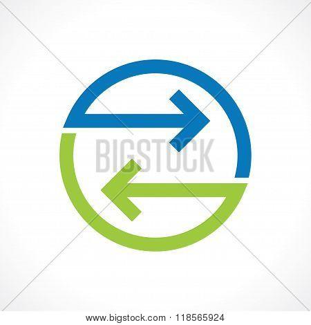 bidirectional arrows
