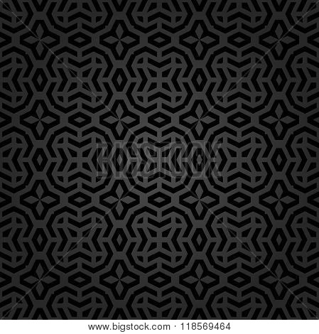 Seamless Geometric Pattern by Stripes