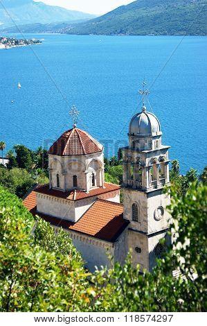 The main church of the monastery Savina
