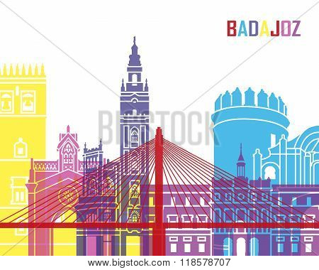 Badajoz Skyline Pop