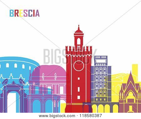 Brescia Skyline Pop