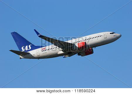 Boeing 737Ng Sas Scandinavian Airlines