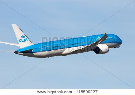 Klm Royal Dutch Airlines Boeing 787-9