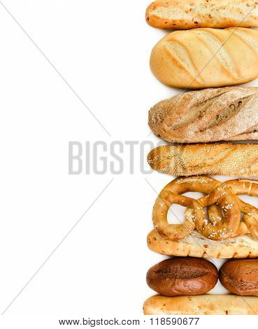 French Baguettes And Bread