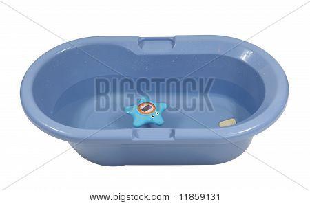 Blue Baby Bathtub