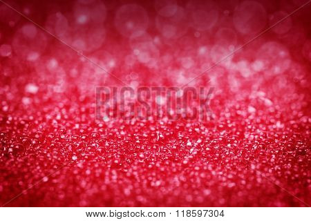Red Background, Glitter, Lights, Bokeh
