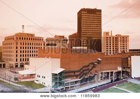 Downtown Of Akron