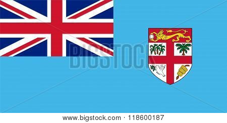 Standard Proportions For Fiji Flag