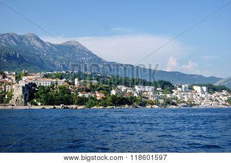 The seaside town of Herceg Novi