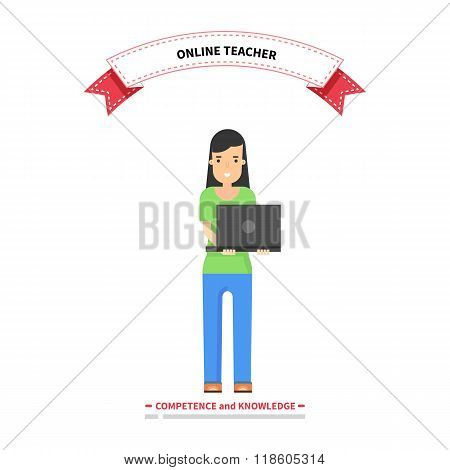 Online Teacher Competence and Knowledge