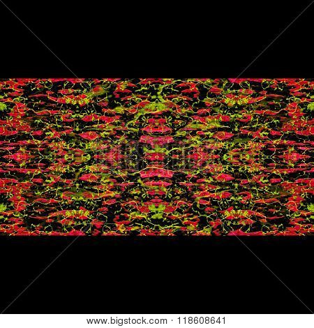 Oriental Abstract Stripes Seamless Pattern