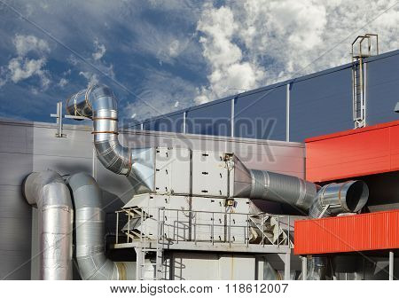 Industrial Steel Air Conditioning And Ventilation