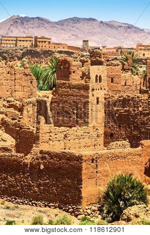 Ruins In Dades Valley, Morocco