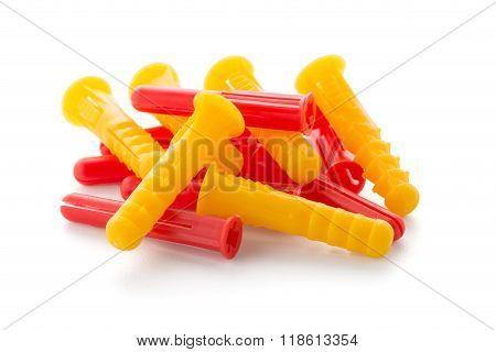 Colorful Plastic Dowels