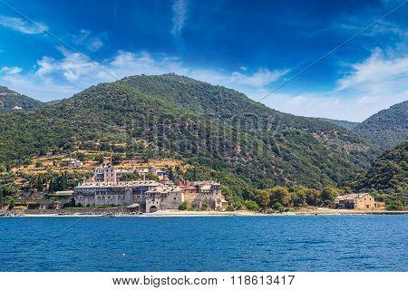 Xenophontos Monastery On Mount Athos
