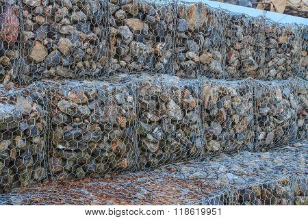 Cobble Stone Mole In Sea