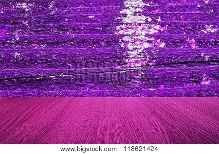 Purple vintage wooden background texture for design and business products.