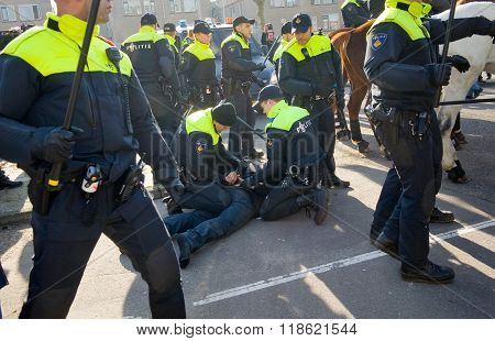 Arrest By Policemen