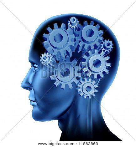 Neurologia de função de cérebro de inteligência