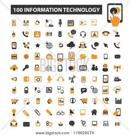 data icons, data logo, technology icons vector, technology flat illustration concept, technology infographics elements isolated on white background, technology logo, technology symbols set, computer
